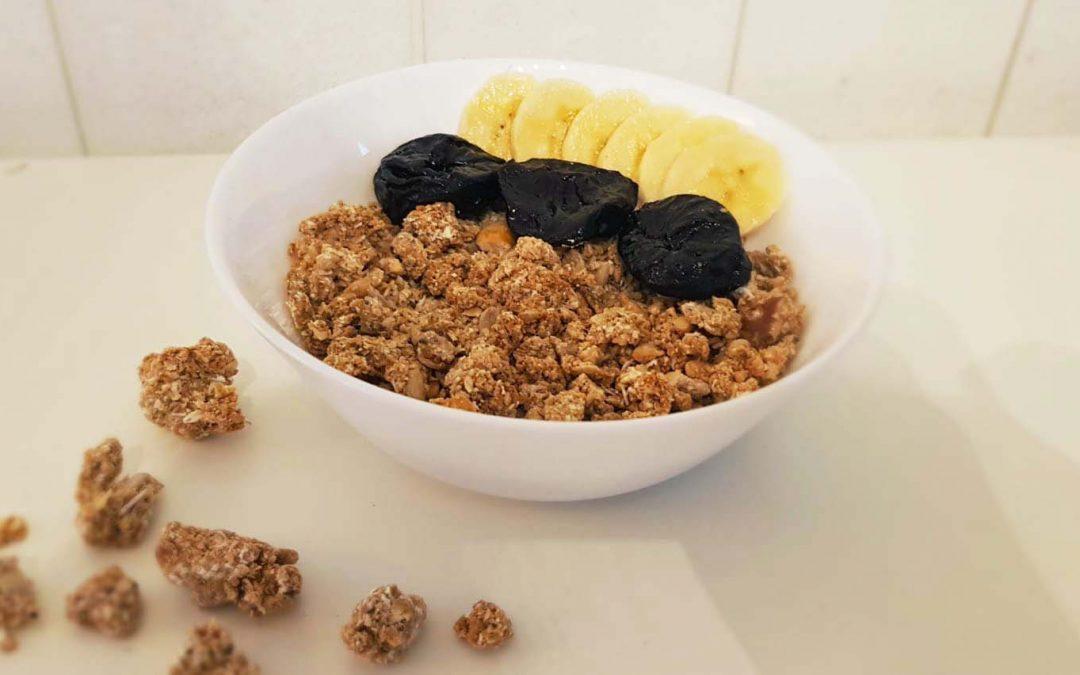 Wholegrain oat muesli